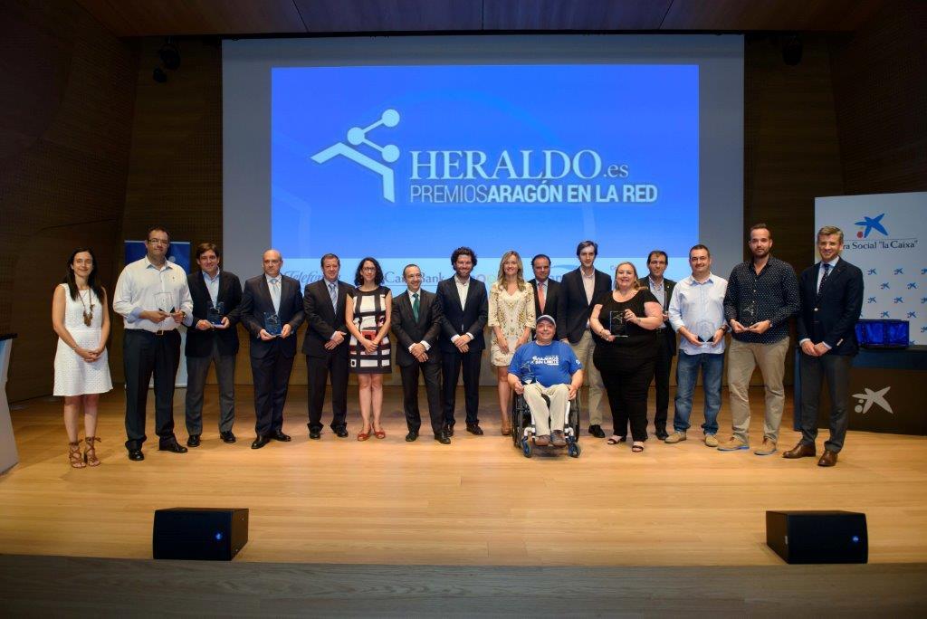 Premios Aragón en la red de Heraldo de Aragón.
