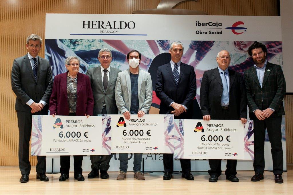 Premios Aragón Solidario de Heraldo de Argón.