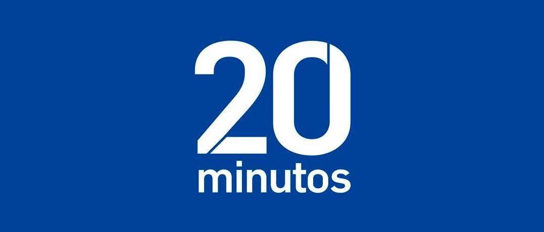 Logo del diario 20 Minutos.