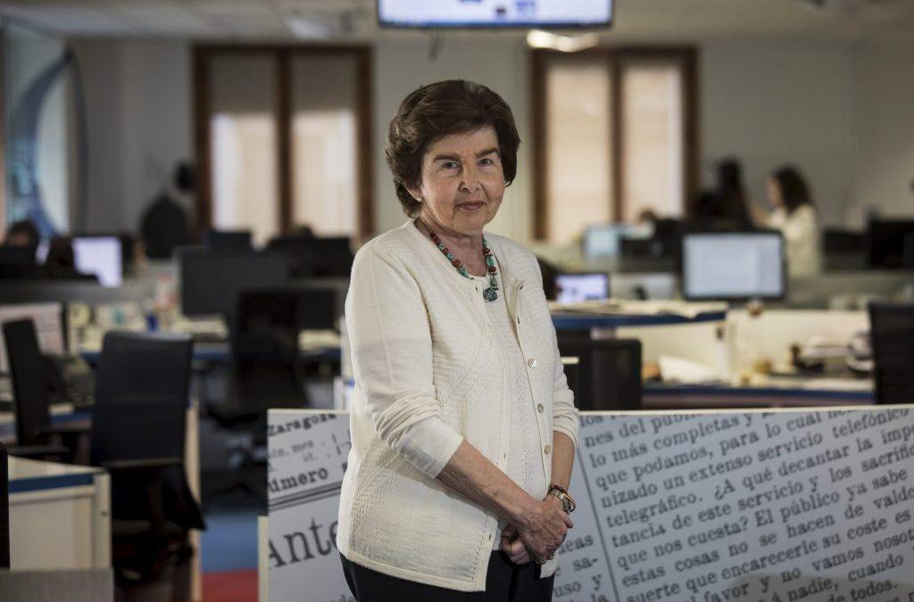 Pilar de Yarza, pregonera de la Semana Santa de Zaragoza