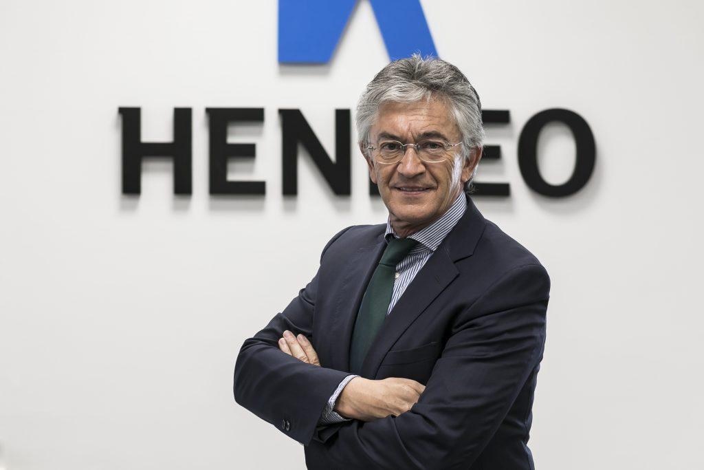 Pepe Quílez en las instalaciones de Henneo. Foto: José Miguel Marco