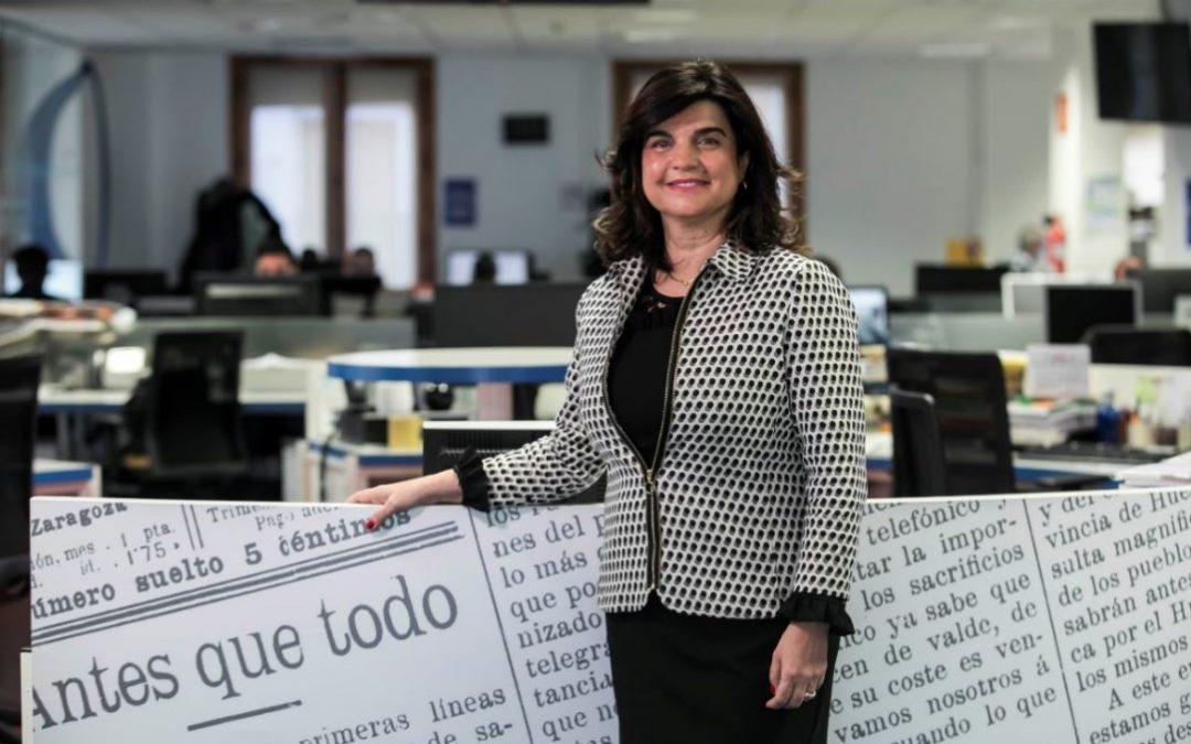 Paloma de Yarza, nueva presidenta de Heraldo de Aragón