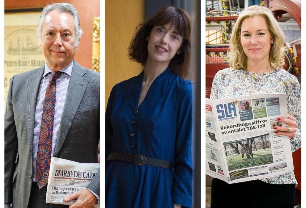 José Joly, Irene Vallejo y News Media Europe, galardonados con los Premios Heraldo 2021